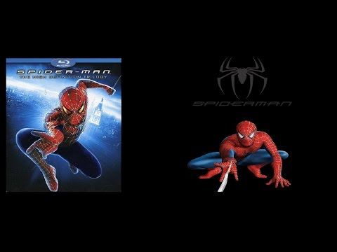 Spider-Man Trilogy on Blu Ray