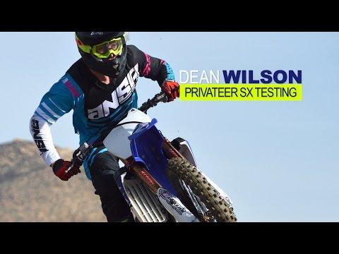 DEAN WILSON – Supercross Privateer Prep