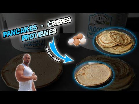 recette-fitness-musculation-crepes-pancakes-protÉinÉs-avec-et-sans-whey
