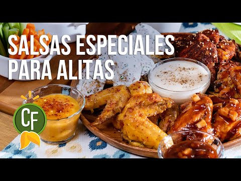🌶 Salsas Especiales Para Alitas 🤯 | Cocina Fresca