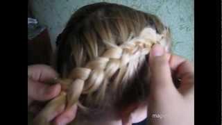 Видео Как плести вывернутый колосок(Это видео покажет вам, как заплетать французские вывернутые колоски, что очень подойдет девушкам с длинным..., 2012-05-12T14:48:59.000Z)