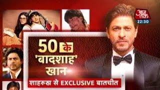 SRK Turns 50: Exclusive Interview With The Badshah Of Bollywood