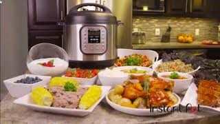 Cook Good Food First || Instant Pot DUO80 8 Qt 7-in-1 Multi- Use Programmable Pressure Cooker