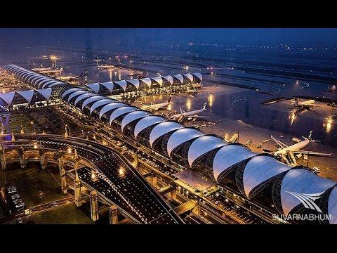✈  Bangkok Airport Full Tour ✈ Suvarnabhumi Airport Tour ✈