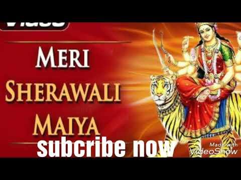 Tujhe Kab Se Pukare Tera Lal Aaja Maa Sherawal New Hd Video