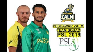 Peshawar Zalmi - Official Team Squad | Pakistan Super League 2019 | Team Player List