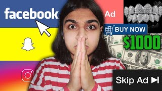 BUYING EVERY ADVERTISEMENT I SEE CHALLENGE! | $1000 DOLLAR BUDGET TO SPEND (NOT CLICKBAIT!)