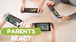 My Parents React - Switch presentation, games & price