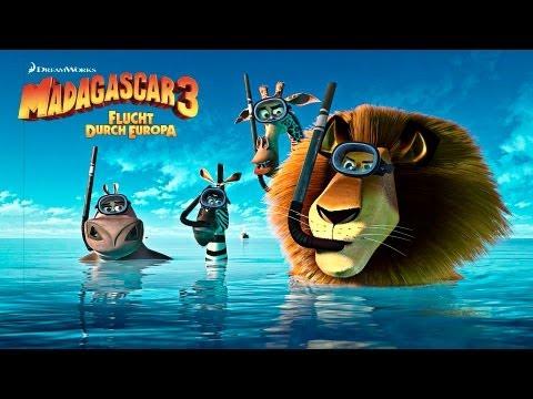 MADAGASCAR 3  Deutsch German FullHD 2012