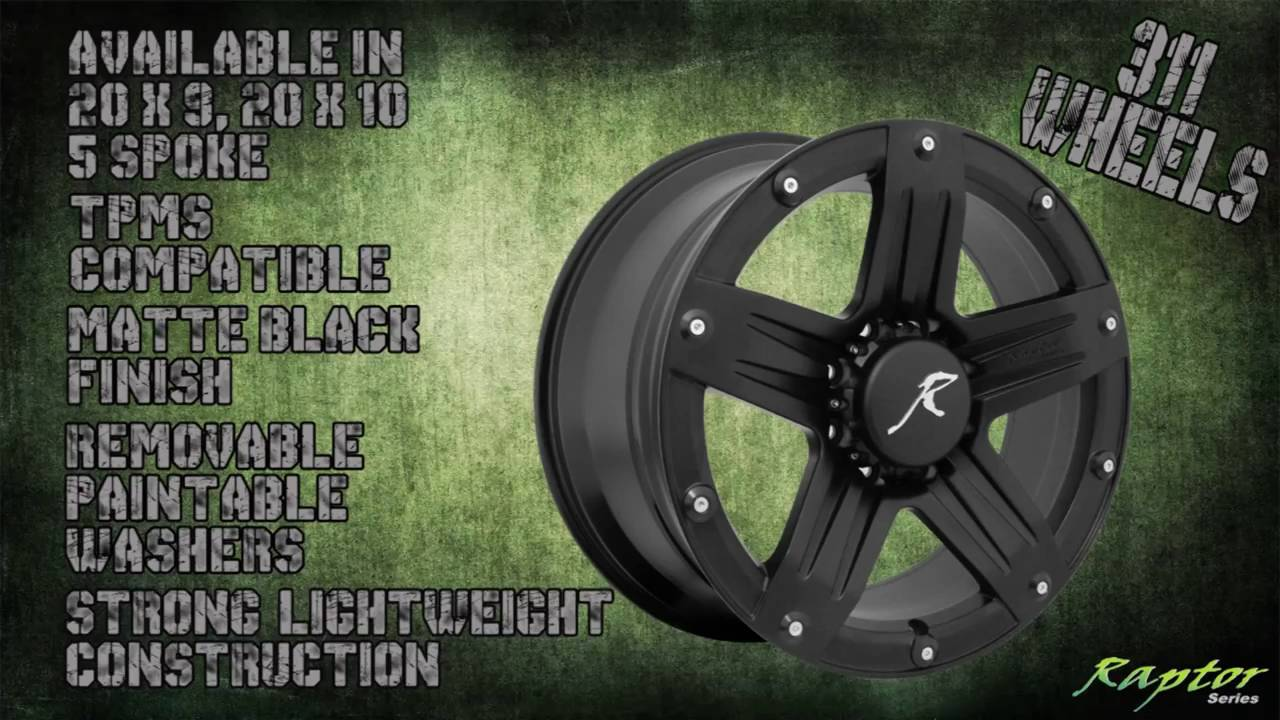 Raptor Series 311 Wheels Rims