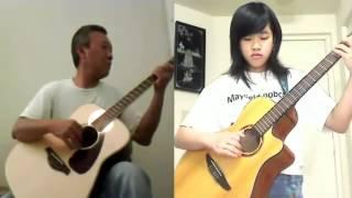 Rừng Chưa Thay Lá  -  Song Tấu Guitar