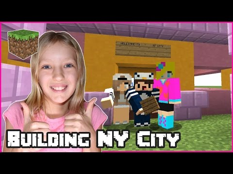 Building NY City / Minecraft