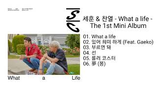 [DOWNLOAD LINK] EXO-SC (SEHUN & CHANYEOL) – WHAT A LIFE – THE 1ST MINI ALBUM (MP3)
