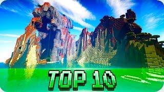 Minecraft Seeds - TOP 10 SEEDS! Best Seeds for Minecraft 1.12 / 1.11