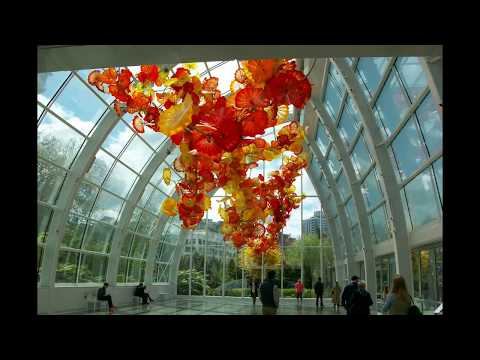 Space Needle   Chihuly Garden And Glass April 2018