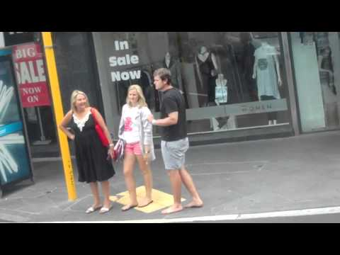 Shoeless in Auckland