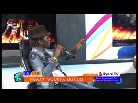 VUUSYA UUNGU LATEST INTERVIEW AT KYENI TV BY DJ BIADO AND NGUU YA KINZE