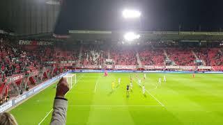 Ontlading bij de 3-1 van Alexander Jeremejeff FC Twente - FC Groningen