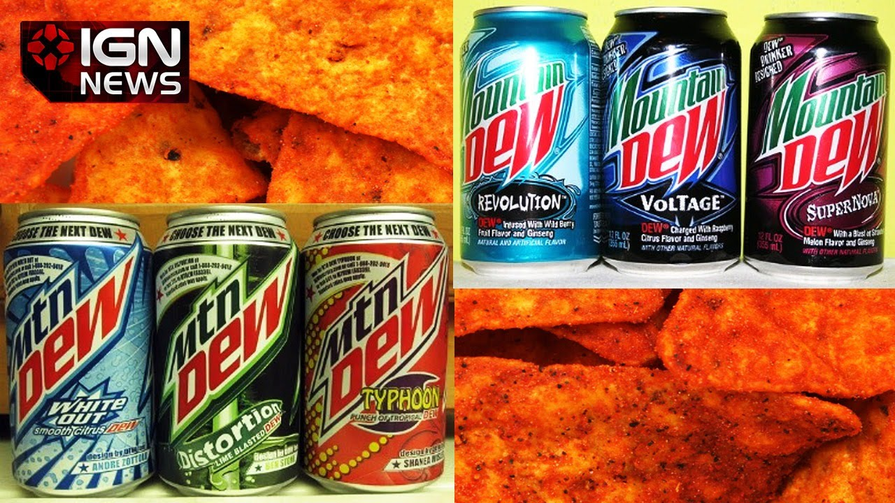 Pepsi Has Created Doritos-Flavored Mountain Dew - IGN News ...