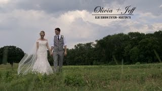Olivia + Jeff Olde Dobbin Station Wedding Video - Houston Wedding Videographer(The Wedding Theater, an Austin based wedding videography company that films weddings all over including Dallas, Houston and San Antonio, presents Olivia ..., 2014-05-08T18:23:46.000Z)