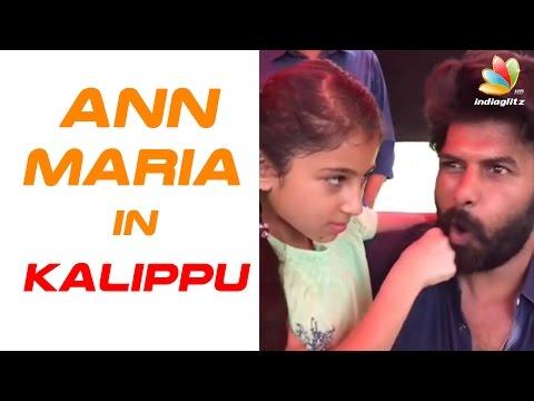Baby Sara Beats Sunny Wayne | Ann Maria Kalippilaanu | Shooting Spot Video