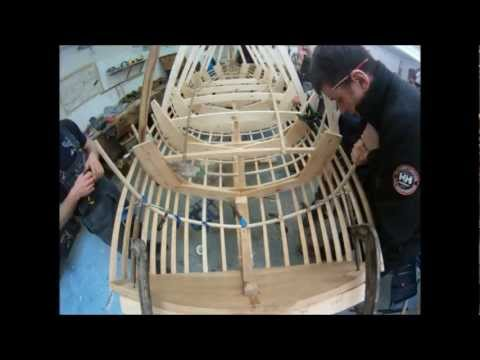 "IBTC Herreshoff 11'6"" Dinghy Backbone Build"