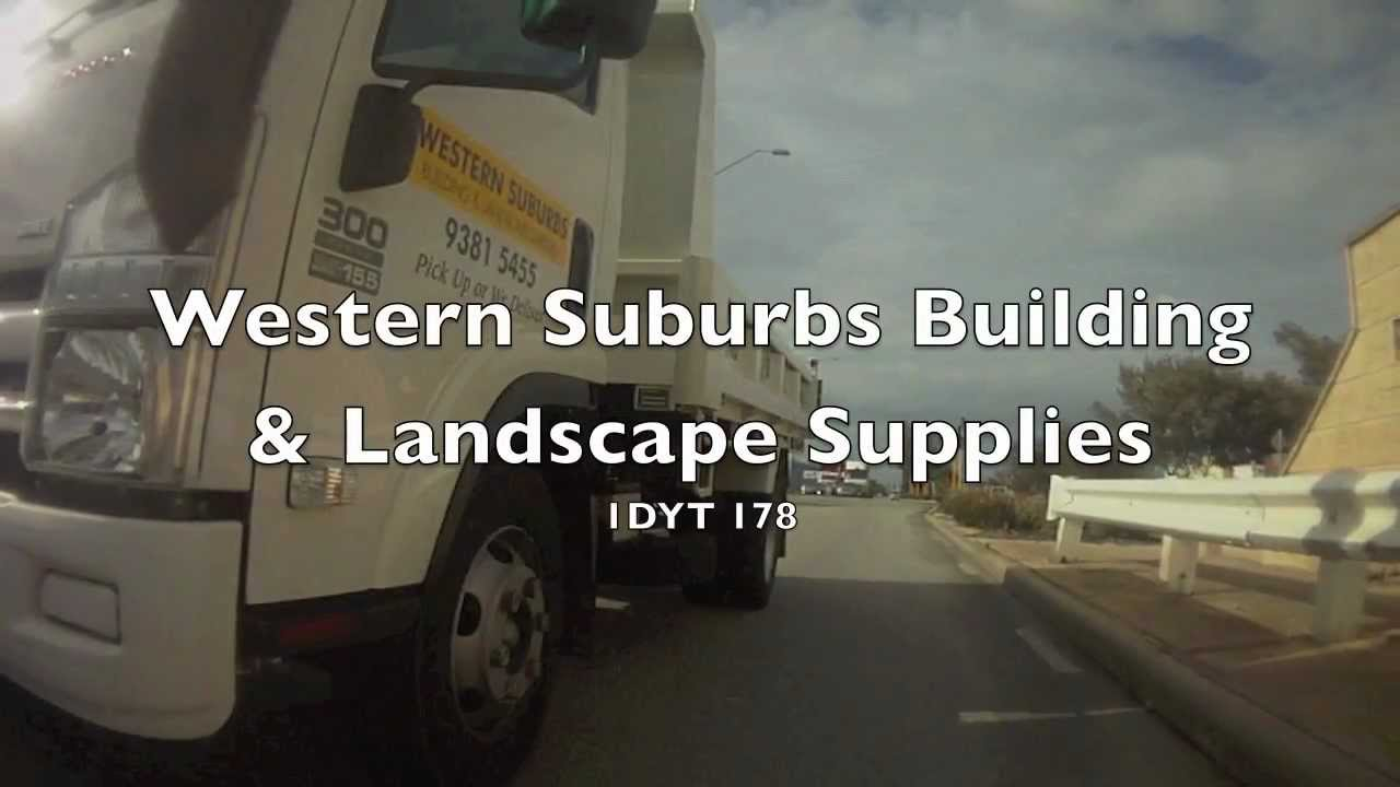 Western Suburbs Building & Landscape Supplies-1DYT 178 - Western Suburbs Building & Landscape Supplies-1DYT 178 - YouTube