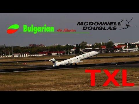 | Near Tailstrike | Bulgarian Air Charter McDonnell Douglas MD-82 takeoff at Berlin Tegel