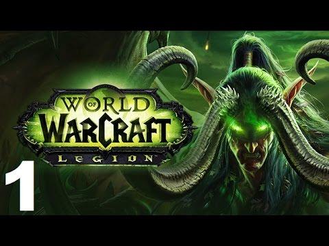Amo Plays World of Warcraft Legion PTR - Ep 1 - Demon Invasion (Gameplay)