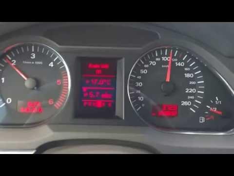Расход топлива audi A6 quattro 3.0 tdi, C6