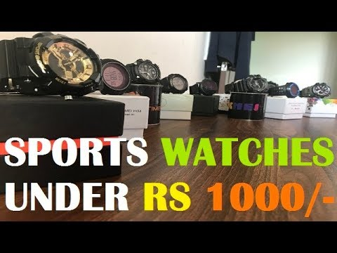 Top 10 Best Digital And Analogue Sports Watches Available Online For Men And Boys Under Rs 1000 |