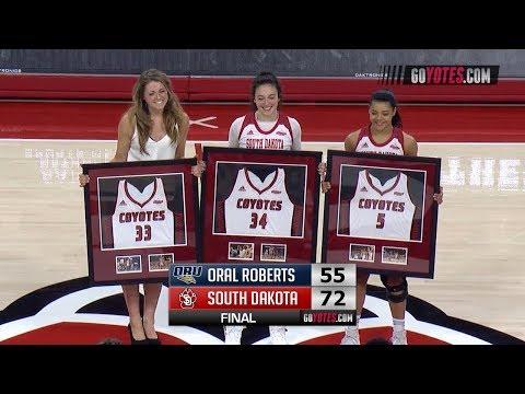 WBB Highlights: South Dakota 72, Oral Roberts 55