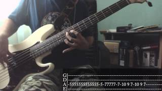 Iron Maiden - Hallowed Be Thy Name [Bass Cover + Tab]