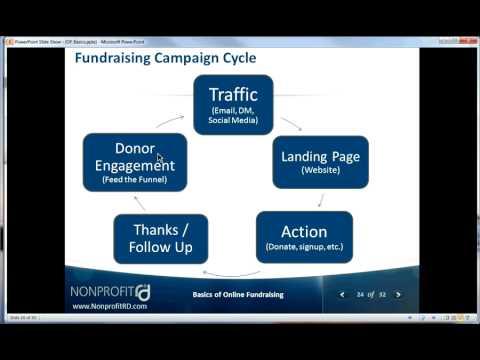 Webinar - Online Fundraising Basics