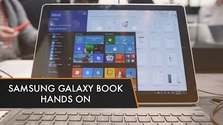 Samsung Galaxy Book | Hands On at MWC 2017