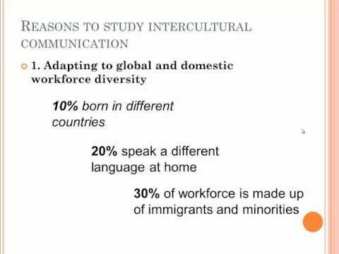 Reasons To Study Intercultural Communication