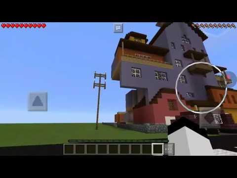 Minecraft: Πήγα στο υπόγειο (Hello neighbor alpha1)