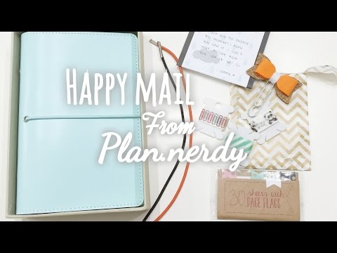 Happy Mail From Plan.nery (New Planner)