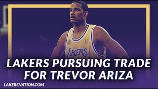 Lakers Podcast: Lakers Reportedly Pursuing Trevor Ariza Through Possible Three Team Trade