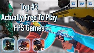 Top 3 FREE Multiplayer FPS PVP Mobile Games 2019