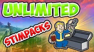 Fallout 76 How To Get Unlimited Stimpacks/Meds (exploit/glitch) - Power Armor Location