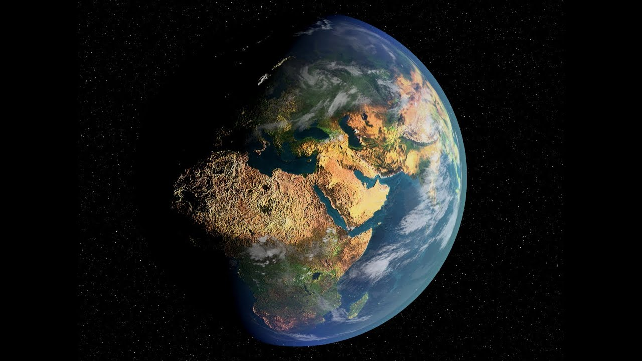 3d earth tutorial 3ds max 2014 youtube