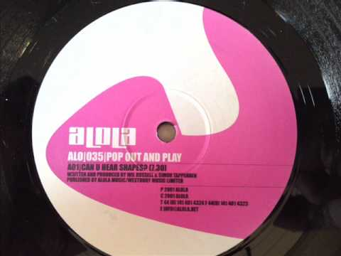 Pop Out And Play - Can You Hear Shapes - Alola (ALO035)