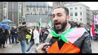 لجنة دعم الثورة السورية تحيي في امستردام ذكرى بدء الثورة