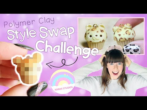 Following Kawaii Studios' Polymer Clay Tutorial│Style Swap Challenge from YouTube · Duration:  19 minutes 51 seconds