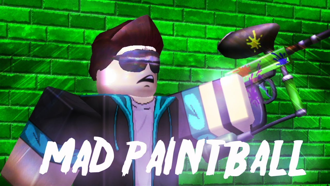 Roblox Mad Paintball Again Youtube
