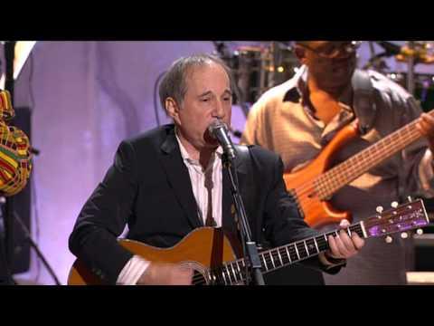 Paul Simon and Stevie Wonder -