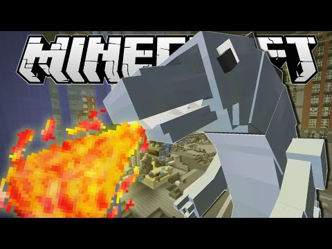 Minecraft | I AM GODZILLA!! | Custom Command