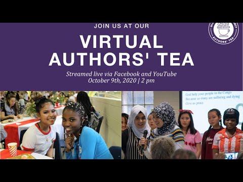 LIVE Global Village Project Virtual Authors' Tea October 2020