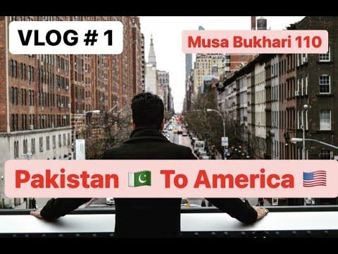 Download Vlog # 1 - Pakistan Se American - New York Snow Storm - Musa Bukhari 110